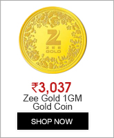Gold Coin of 1 Gram in 24 Karat 999 Purity by Zee Gold