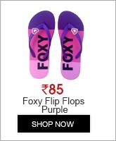 FOXY WOMEN'S LILY-3 FLIP FLOPS PURPLE