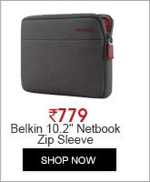 Belkin 10.2' Netbook Zip Sleeve (F8N575qeC00)