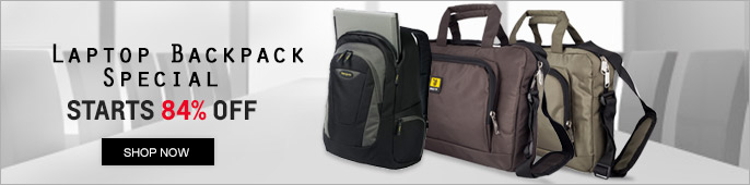 Laptop Backpack & Sleeves Special