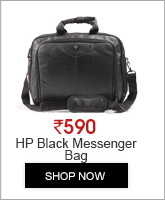 HP Black Messenger Bag