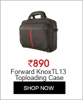 Forward KNOX TL13 Toploading Case 14.1 Inches FCLTL13BKE
