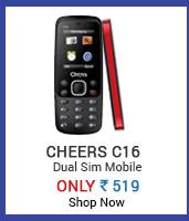 Cheers C16 Dual Sim Multimedia Mobilesilk saree (CRH-N249)