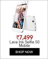 LAVA IRIS Selfie 50 - 8 GB - White - Smartphone