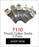 6 Pairs Of Thumb Cotton Socks for Women Sweat Proof