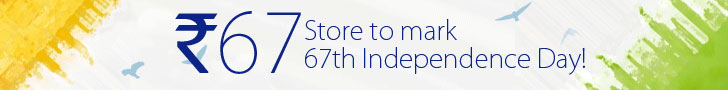 Independence Day Deal – Anything for Rs 67 Only Sale