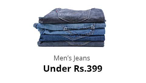 Shopclues: Men's Jeans – Under Rs.399/-