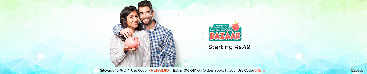 Super Saver Bazaar – Starts at Rs. 49 – Buy Online at Shopclues.com