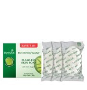 Bio Morning Nectar flawless skin soap pack of 3 - ShopClues