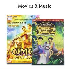 Movies & Music - ShopClues
