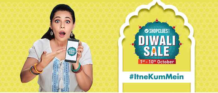 Shopclues: Diwali Dhamaka Deals Launching Tomorrow, 1st October, 2016 to 10th October, 2016