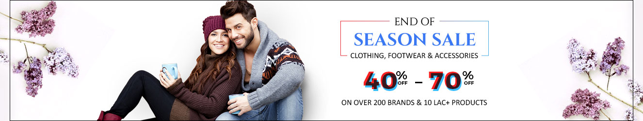 40-70% Off on Branded Clothing, Footwear & Accessories – Buy Online at Shopclues.com