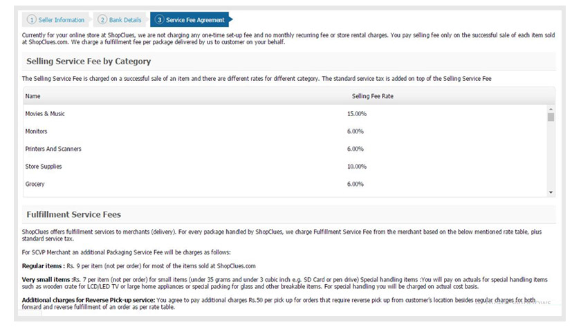 Seller Service Agreement-ShopClues