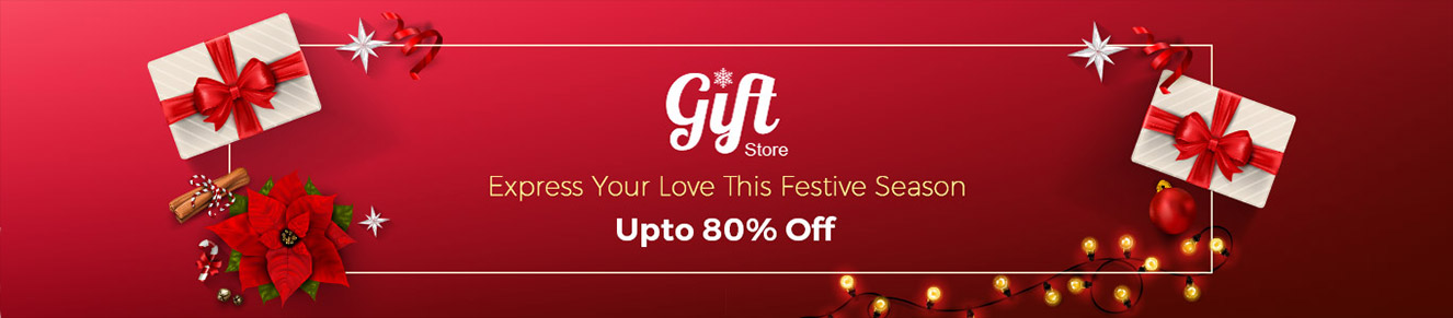 Christmas Carnival Upto 80% Off on Festive Gifts – Buy Online at Shopclues.com