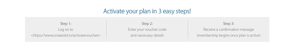 Active your plan in three easy steps - ShopClues