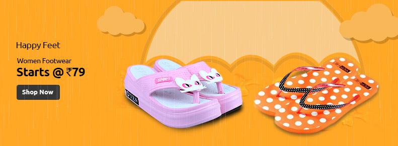 Women Footwear - ShopClues