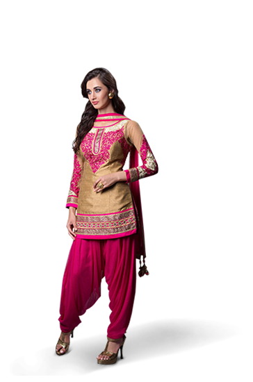 Printed Suits-ShopClues