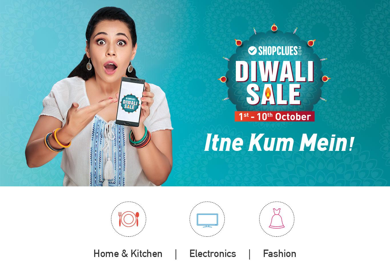 Shopclues Diwali Sale