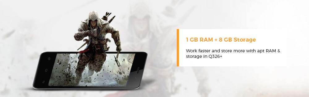 1gb ram plus 8gb storage - shopclues