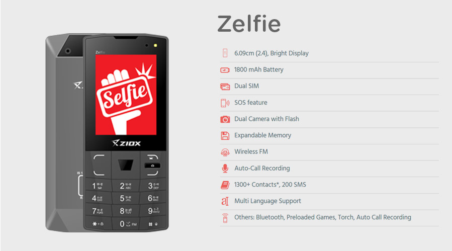 Zelfie Phone-ShopClues