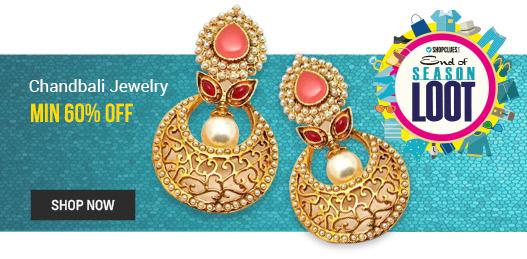 Chandbali Jewelry