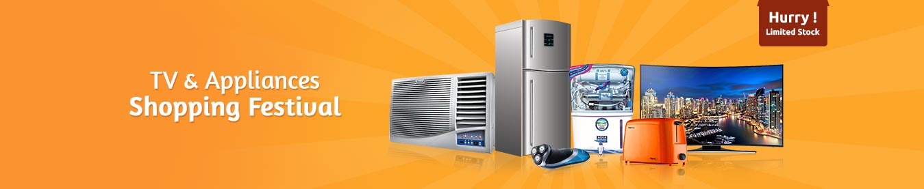 Tv and Appliances Shopping festival-ShopClues