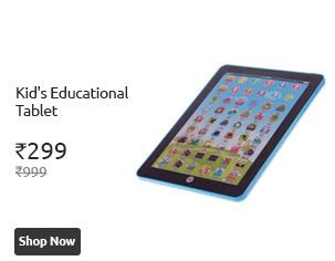 Cracker Deal Kids Educational Tablet