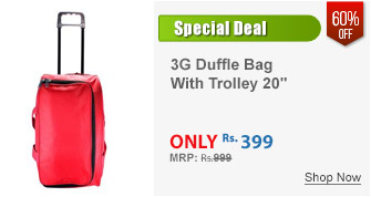3G Duffle Bag With Trolley