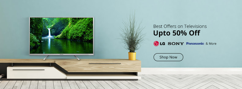 Shopclues TV Sale Offers, Cashback Deals and Promo Codes