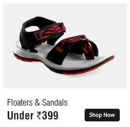 Sandals & Floaters Under 399 Special