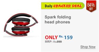 Spark folding head phones