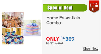 Combo of 2 Double Bed Sheet With 4 Pillow Covers and 5 Face Towels
