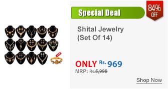 Saj Shringar 14 Multicolour Jewellery Collection by Shital