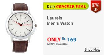 Laurels Original Brown Analog Watch