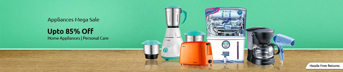 Shopclues Kitchen Appliances Sale, Deals and Cashback Offers