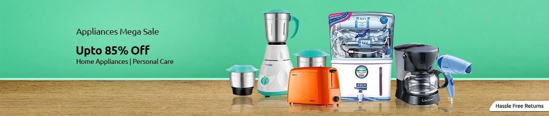 Shopclues Kitchen Appliances Sale, Deals and Cashback Offers