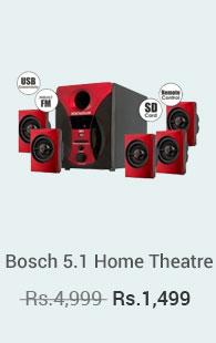 Bosch 5.1 Home Theatre