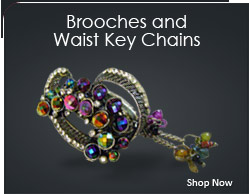 Broochers and Waist Key Chains