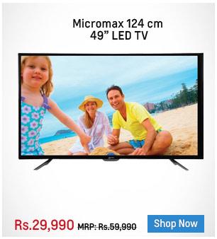 Micromax 50C1200FHD/50C5500FHD 124 cm (49 inch) LED TV