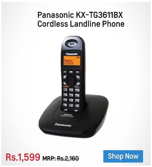 Panasonic KX-TG3611BX Cordless Landline Phone