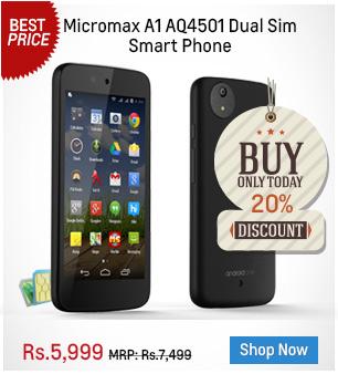 Micromax A1 AQ4501 Dual Sim Smart Phone