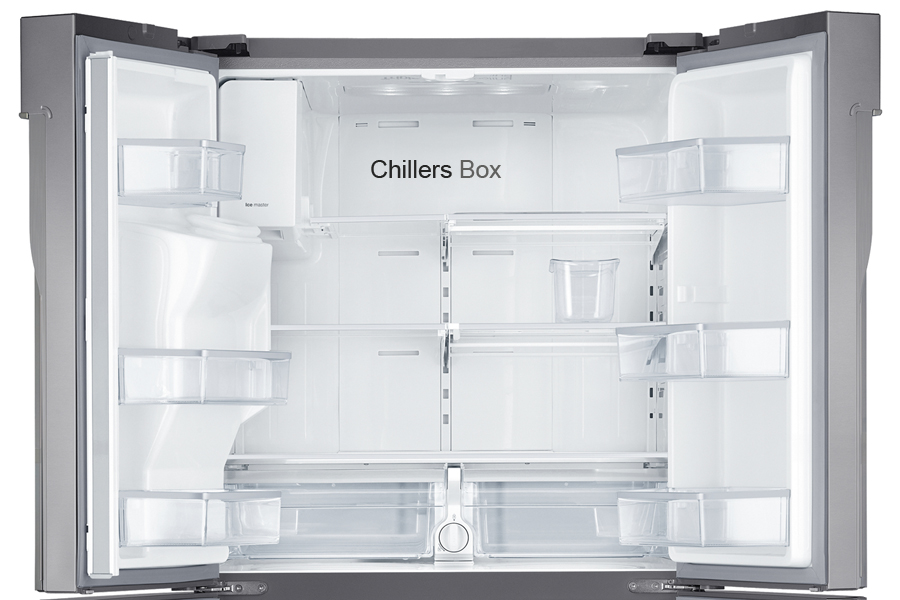 Quick-freeze Compartment or Chiller