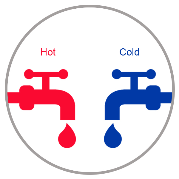 Hot & Cold Water