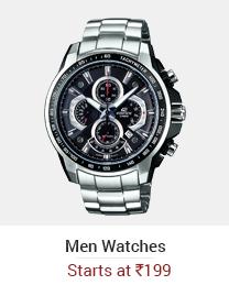 Men Watches - Starts @ 175