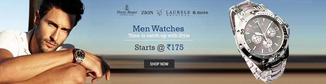 Men Watches Starts@175