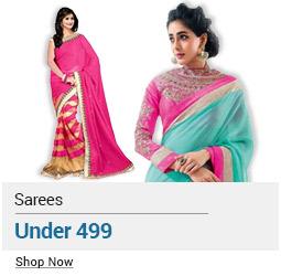 Sarees Below Rs 499
