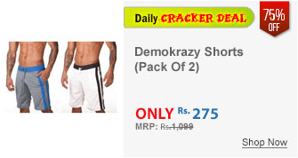 Demokrazy Shorts Pack Of Two (24580)