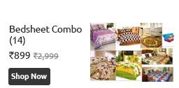 Bedsheet Combo