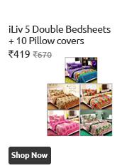 Iliv Double Bedsheets