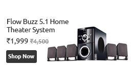 Flow Buzz Home Theatre